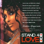 STAND4LOVE Dahlia Jayaram