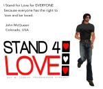 STAND4LOVE John McQueen
