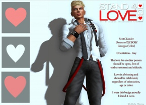 STAND4LOVE Scott Xander