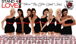 STAND4LOVE The RDG Falcon Fly Girls