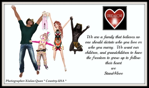STAND4LOVE: XIULAN QUAN & FAMILY