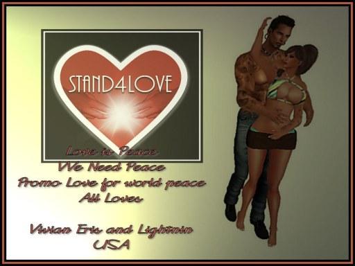 STAND4LOVE: Lightnin and Vivian Eris
