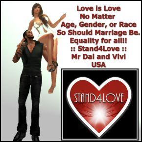 STAND4LOVE: Mr. Dai and Vivian Eris