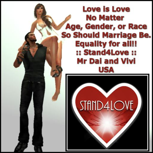 STAND4LOVE: Mr. Dai and Vivian Eris
