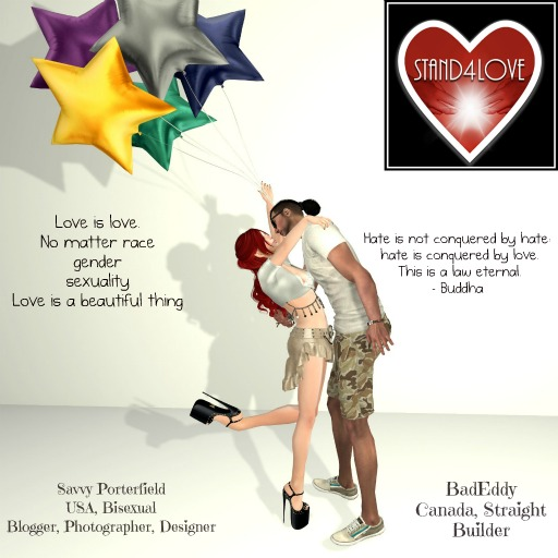 STAND4LOVE:  BadEddy and Savvy Porterfield