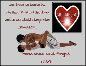 STAND4LOVE: Huntress and Angel