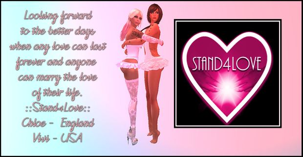 STAND4LOVE: Chloe and Vivi