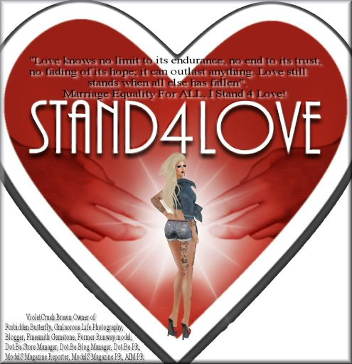 Stand For Love - 2014 Violet2