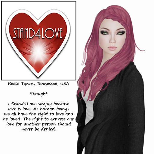 STAND4LOVE:  Reese Tyran