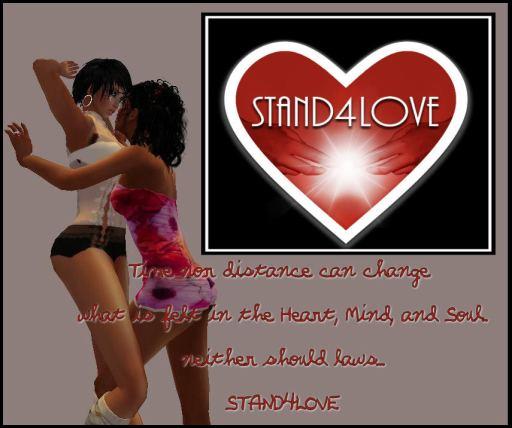 STAND4LOVE: Huntress and Kiti