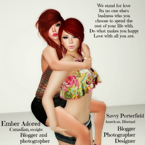 STAND4LOVE:  Savvy Porterfield and Ember Adored