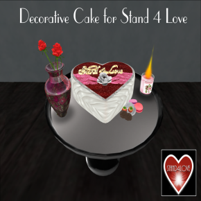_Blueprint_. Stand 4 Love Cake Decor Adv
